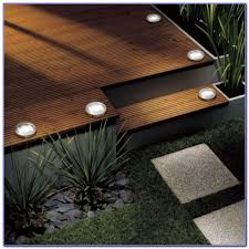 Solar Lights For Deck Stairs by Solar Powered Deck Lighting Decks Home Decorating Ideas