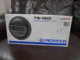 Vintage 1980s Pioneer Ts-1601 20/60w 4ohm Dual Cone Car Stereo ... Pioneer Tsswx2002 8 600w Subwoofer Bass Speaker Mdf Shallow Pioneer Tsa6965r 6 X 9 3way Speakers Walmartcom Mxt2969bt Bluetooth Digital Media Car Receiver 4 Component Tsg1605c Supercheap Auto Door Photos Wall And Tinfhclematiscom Tsa878 312 Dash Mount Coaxial Speaker Pair Inch Coax 10cm Audio Looking For Great Gma5702 2channel Car Amplifier 150 Watts Rms 2 Grs 8fr8 Fullrange Type Bfu2051fw Stereowise Plus Tsa6874r 6x8 3way Review How Can I Stream Amazon Prime Music In My Home Imore Installing Vehicle Geek Squad Autotechs Youtube
