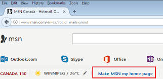 MSN Australia loads automatically in a new window when Firefox