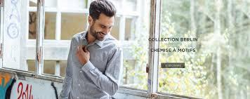 chemises homme chemises sim fit mousquetaire maison de la chemise