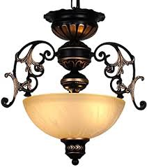 vintage rund lüster deckenleuchte deckele antik glas