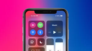 to check battery percentage on the Apple iPhone X