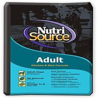 Nutri Source Adult Dog Food - Chicken & Rice Formula