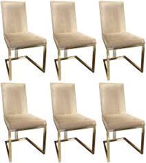 casa padrino luxus esszimmer stuhl set grau gold 50 x 60 x h 100 cm edles küchen stühle 6er set luxus esszimmer möbel