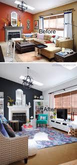 vorher und nachher tolle ideen für die wohnzimmer