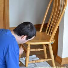 Chair Repair - Fixing A Loose Back On A Wooden Chair