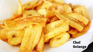 cuisiner des bananes plantain chips de bananes plantains crousty