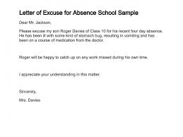 New Excuse Letter for Missing School