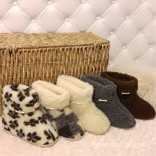 100 Foot Cozy Hard Durable Sole 100 Sheep Wool Boots Slippers Etsy