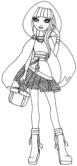 Ever After High Cerise Hood Coloring Pages