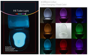 La Tee Da Lamps Instructions by Brelong Aaa Pir Led Toilet Light Bathroom Washroom 4 25 Online