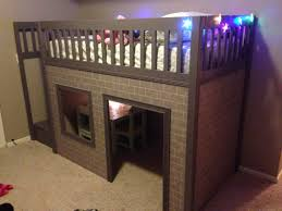 Canwood Whistler Junior Loft Bed White by Amazing Playhouse Loft Bed Free Plans Ana White Com Kids