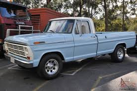 100 Ford F250 Truck Bed For Sale 1968 F 250 Pick UP Long BED 390 V8 C 6 Trans NOT A Mustang