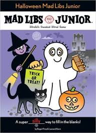 Halloween Mad Libs Esl by 37 Best Mad Libs Images On Pinterest Game Halloween Party And Evie