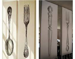 Pottery Barn Wall Decor by Charming Fork And Spoon Wall Decor Pottery Barn I Had To Make Fork