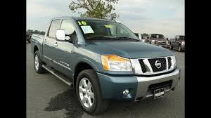 100 Used Nissan Titan Trucks For Sale Truck Maryland 2010 LE 4WD Crew Cab