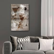 kupfer vlies deko bilder leinwand wandbilder kunstdruck