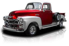 100 1955 Chevy Truck Restoration 135405 Chevrolet 3100 RK Motors Classic Cars For Sale