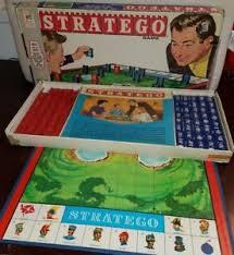 Image Is Loading VINTAGE STRATEGO 1961 MILTON BRADLEY BOARD GAME 4916
