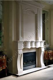 Luxury Limestone Fireplace Mantel in new york and CT