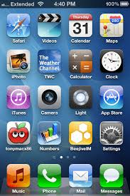 Post a Screenshot of Your iPhone Home Screen