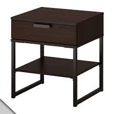 Ikea Trysil Bed by Amazon Com Ikea Trysil Nightstand Dark Brown Black Kitchen
