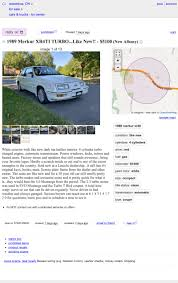 100 Craigslist Columbus Ohio Cars And Trucks By Owner At 5100 Is This 1989 Merkur XR4Ti A Mercury Rising