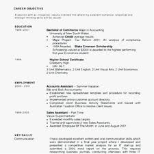 30 Sample Good Resume Objective Statement Photo