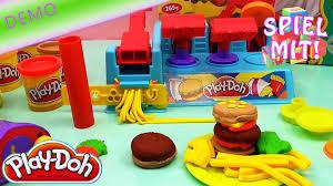 play doh hamburger selber machen demo burger maker hd mcdonald s