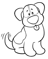 Coloring Pages Of Baby Dogs
