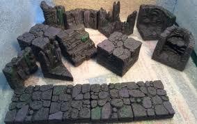 3d Dungeon Tiles Dwarven Forge by Dwarven Forge Caverns Works In Progress Reaper Message Board