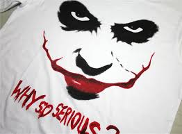 Creepy Clown Pumpkin Stencils by Aliexpress Com Buy Horror Clown Batman Joker Print Tee Shirts