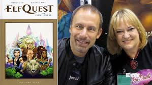 After 40 Years Wendy And Richard Pini Finish Elfquest The First American Manga Go On Fanquest