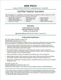 Medical Assistant Resume Examples New Template Cma Skills Yeniscale Bizmancan Com