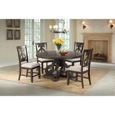 Picket House Furnishings Stanford Round 5PC Dining Set-Round Table ... Kitsch Round Glass Table Set Of 4 Chairs Dfs Ireland Mcombo Mcombo Ding Side 4ding Clear Ingatorp And Chairs White Ikea Cally Modern Table With La Sierra Fniture Grindleburg 60 Woodstock Carisbrooke Barker Stonehouse Dayton 48 Upholstered Shop Hlpf5cap 5 Pc Small Kitchen Setding Hanover Traditions 5piece In Tan A Jofran Simplicity Chair Slat Back Pier 1 W Aptdeco Rovicon Lulworth Pedestal