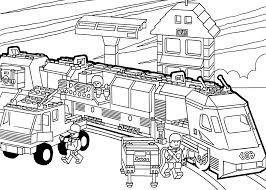 Train Printable Coloring Pages