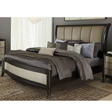 Bedroom King Size Tufted Headboard Upholstered King Bed