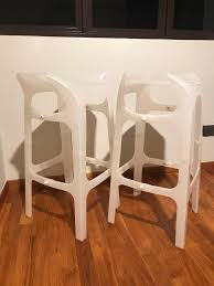 2 Modern High Chairs/ Bar Stools