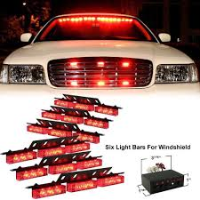 Red 54 LED Emergency Hazard Car Truck Vehicle Police Grill Strobe ... 1224v 6 Led Slim Flash Light Bar Car Vehicle Emergency Warning Best Cree Reviews For Offroad Truck Cirion 47 88led Led Emergency Strobe Lights Flashing New Roof 40 Solid Amber Plow Tow 22 Full Size And Security Top Bar Kits Kit Packages 88 88w Car Truck Beacon Work Light Bar Emergency Strobe Lights Inglight Bars At Fleet Safety Solutions 46 Youtube 55 104w 104 Work Light Beacon