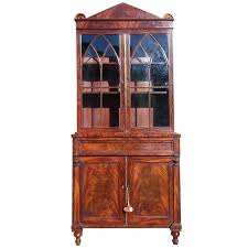 Antique Bookcase China Cabinet Drinks Cabinet For Sale at 1stdibs