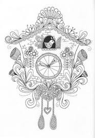 Bird Cage Coloring Page Book