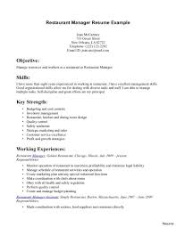 Fast Food Cashier Resume Duties Skills For Position