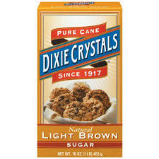 Dixie Crystals Light Pure Cane Brown Sugar 16 Oz Walmart