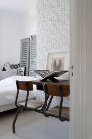 schlafzimmer tapete gesichter mädchen schwarz und weiß 138867