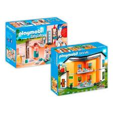 Coloriage Maison Moderne Playmobil