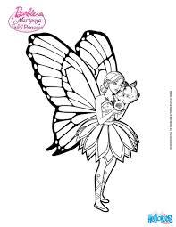 Mariposa Feels Alone Barbie Printable Color Online Print