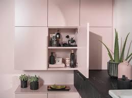 badezimmer in rosa und schwarz schmidt