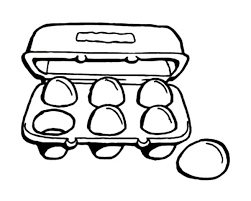 Coloring Page Egg Carton 600x479 4064 Cool
