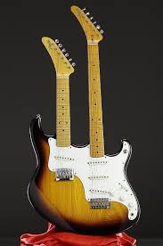 Stevie Ray Vaughan Robin Double Neck Octave Guitar