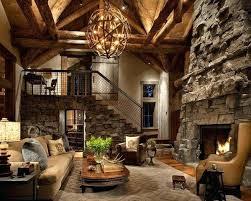 Lighting Fixtures Living Room Ideas Rustic Chandelier Light Simplicity Coziness And